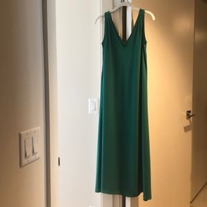 J. Crew Emerald Green Maxi Dress